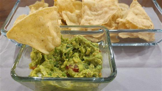 Avokádová nátierka - guacamole