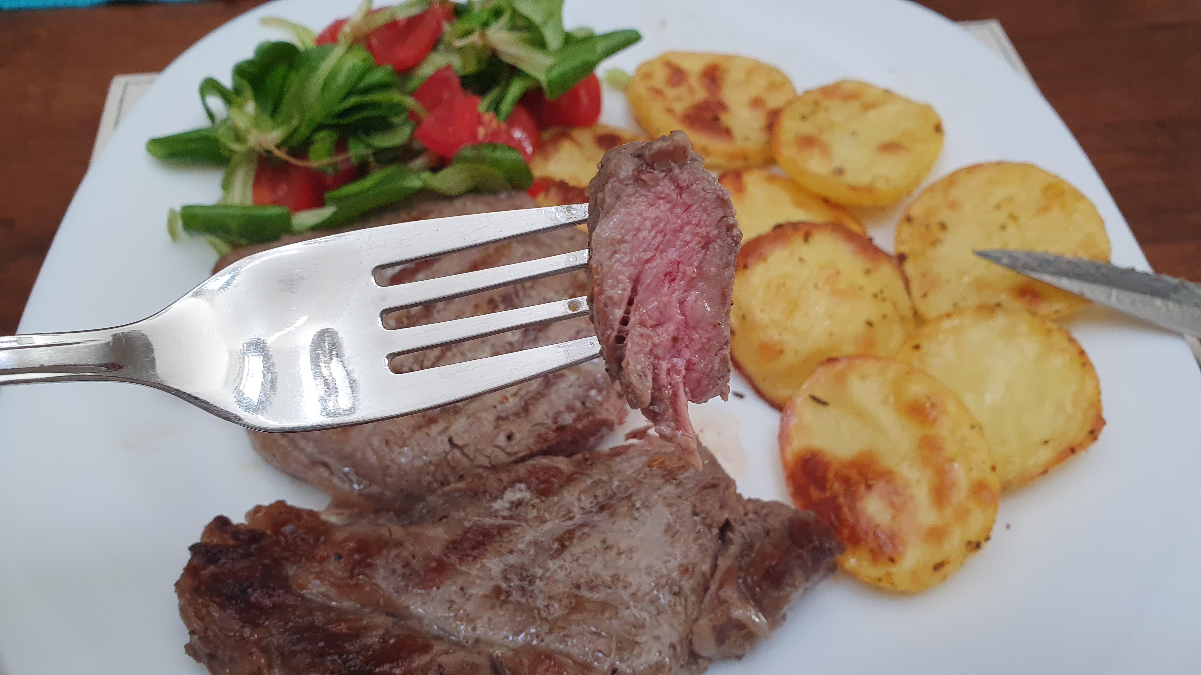 Recept na hovädzí steak so zlatými dukátmi
