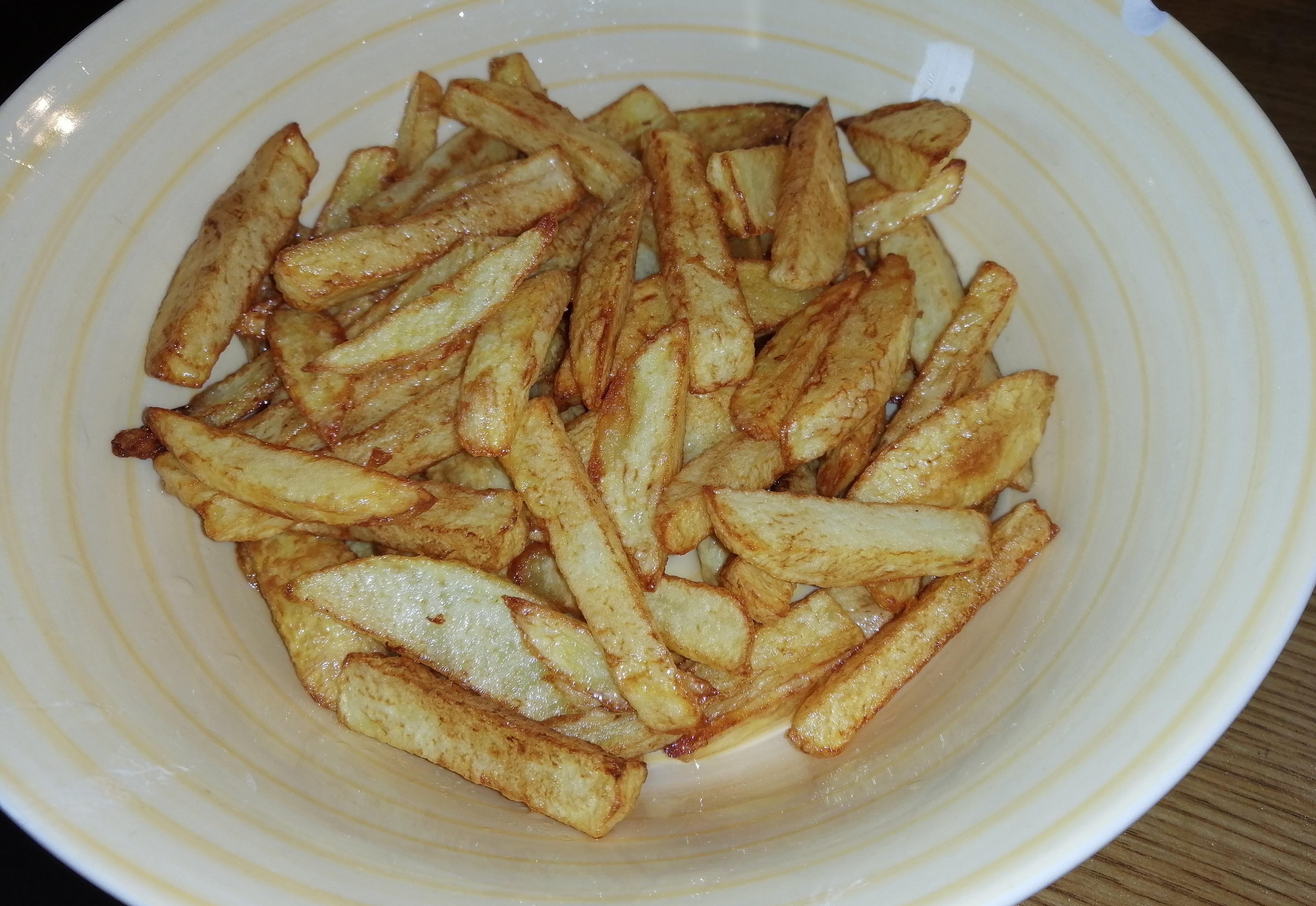 Recept na domáce hranolky