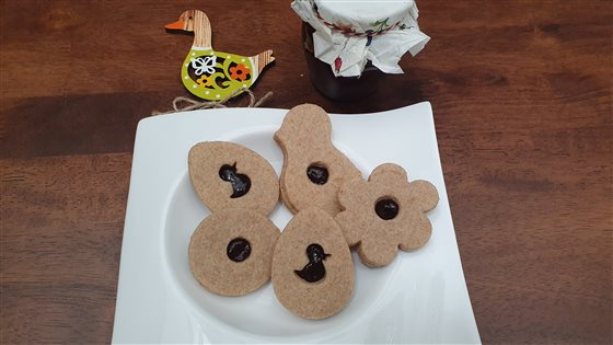 Linecké koláčiky na špaldový spôsob