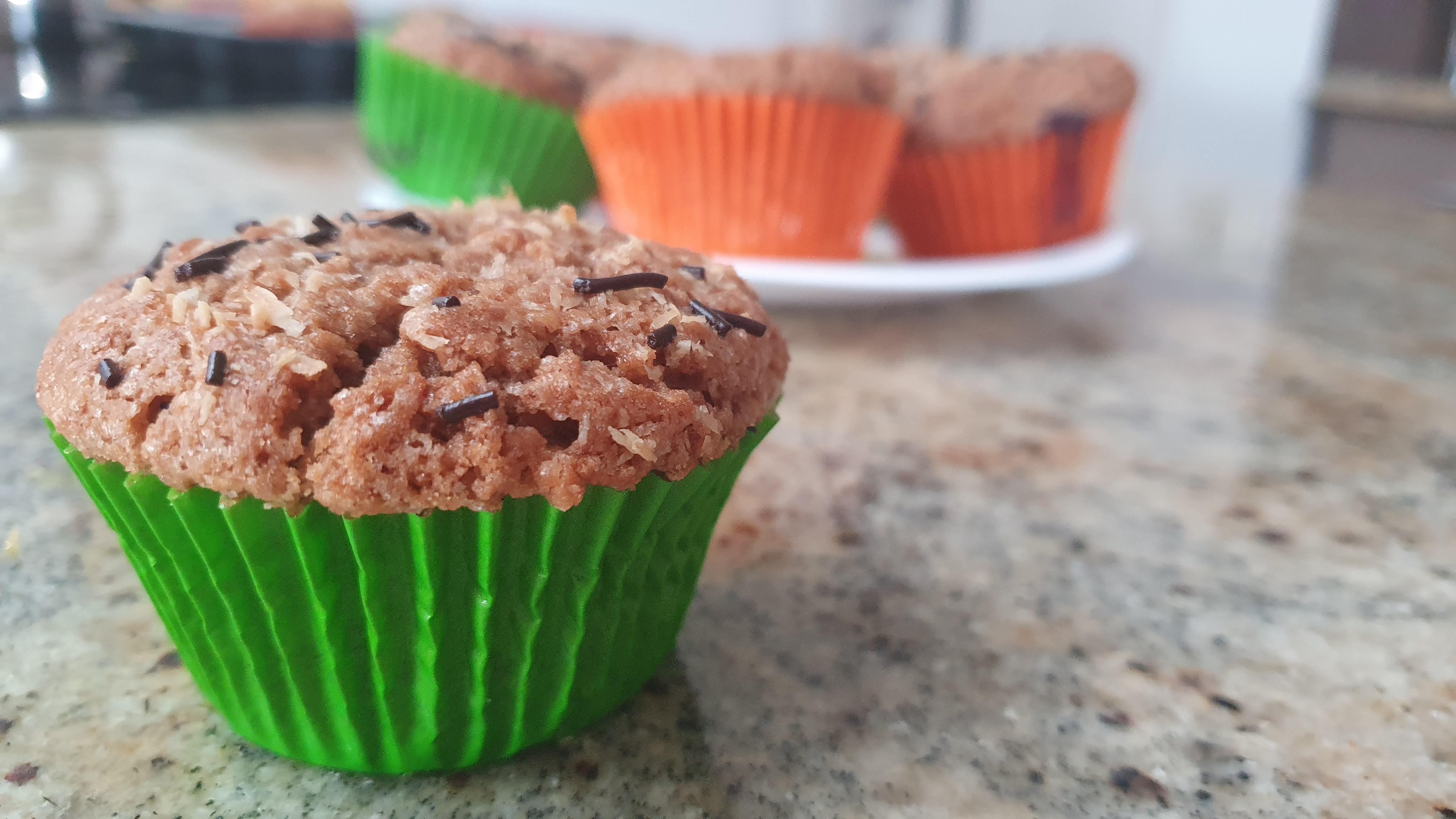 Recept na rýchle muffiny - čokoládové, orechové, kokosové, jablkovo-škoricové