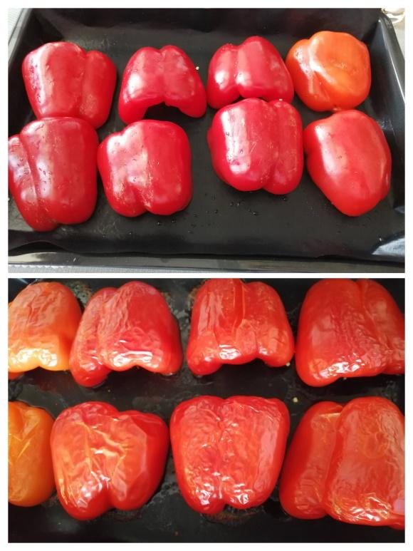 Červenú papriku upečieme na plechu