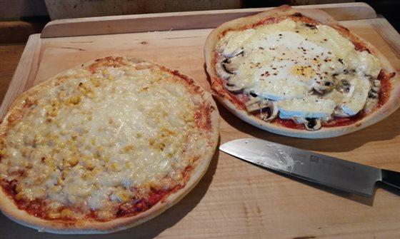 Cesto na pizzu a domáca pizza