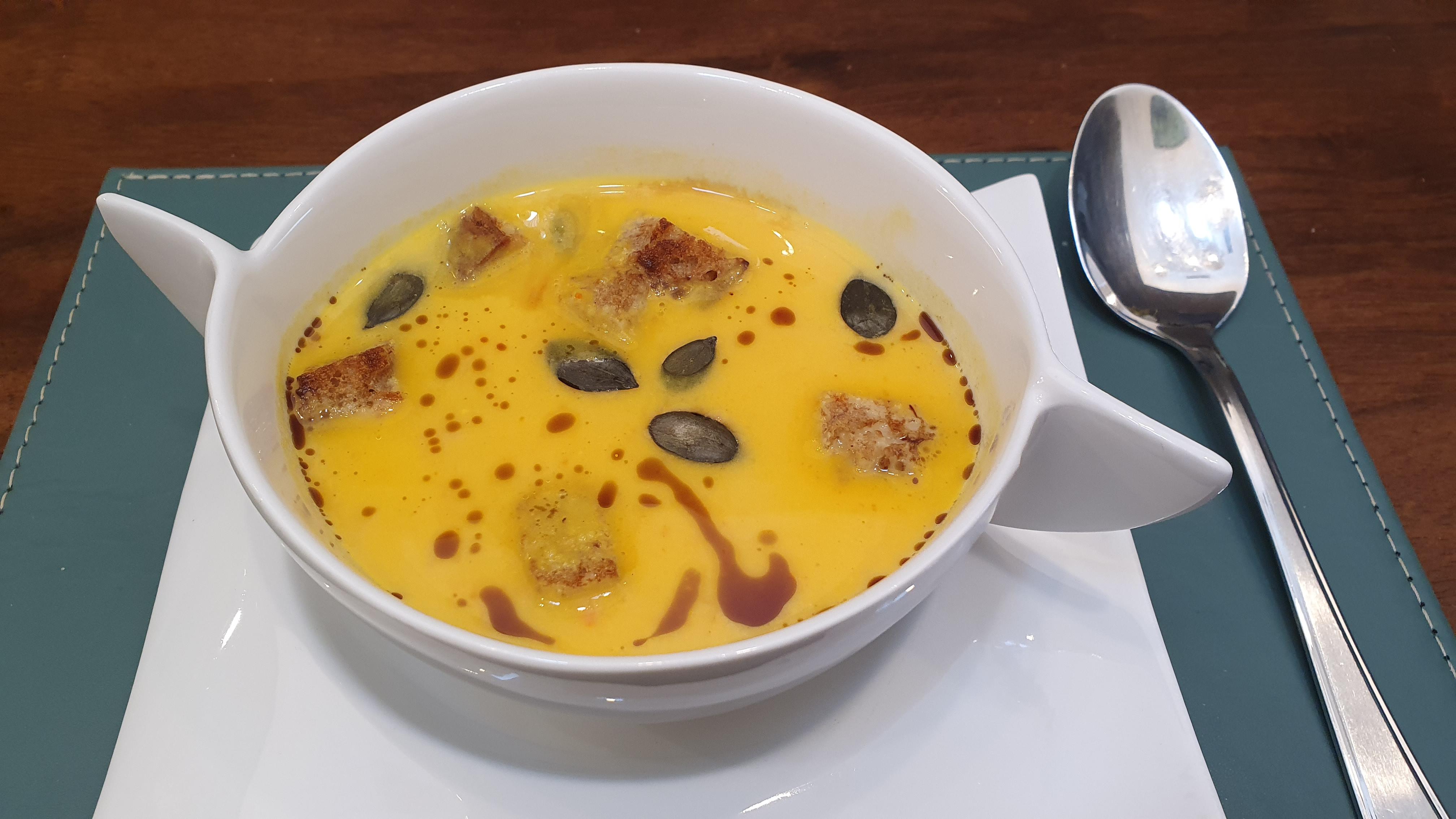 Recept na polievku Hokkaido