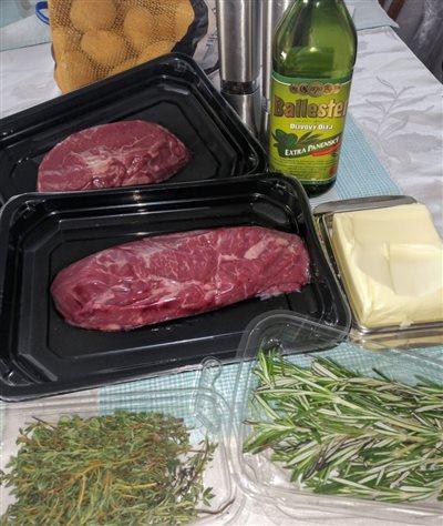 Roastbeef rump steak - potrebujeme