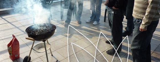 Grilovačka na terase