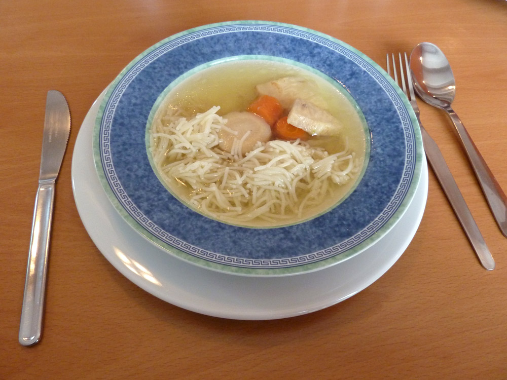 Kačacia polievka – recept
