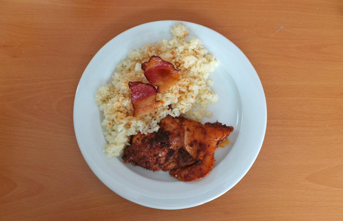 Pečené kura so skvelou ryžou – recept