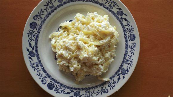 Rezance tvarohové a rezance vajcové – recepty