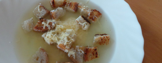 Cesnaková polievka (cesnačka)