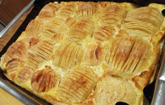 Božský jablkový koláč