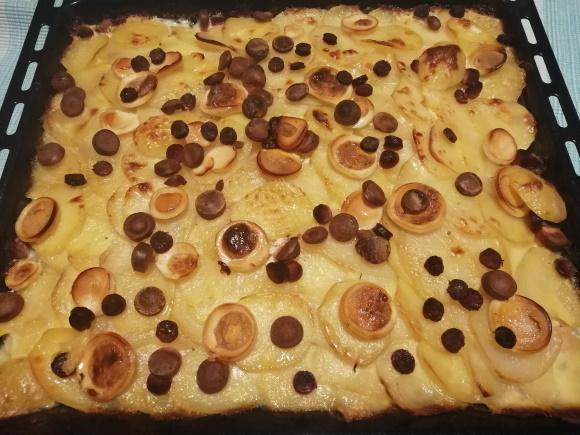 Francúzske zemiaky upečené