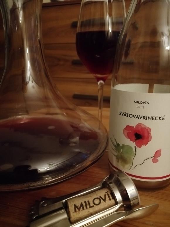 Svätovavrinecké ružové - remeselné vinárstvo Milovín
